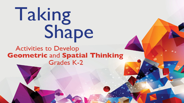 Image of Geometric shapes for Taking Shape Book cover